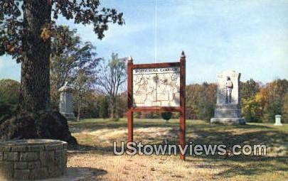 Bloody Angle  - Fredericksburg, Virginia VA Postcard