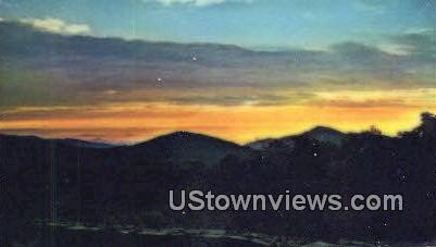 Sunrise From Skyland Resort  - Shenandoah National Park, Virginia VA Postcard