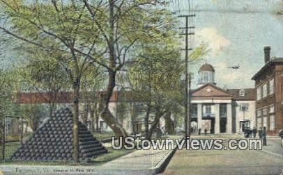 Entrance To Navy Yard  - Portsmouth, Virginia VA Postcard