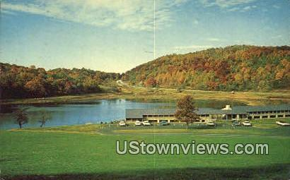 Peaks Of Otter  - Blue Ridge Parkway, Virginia VA Postcard
