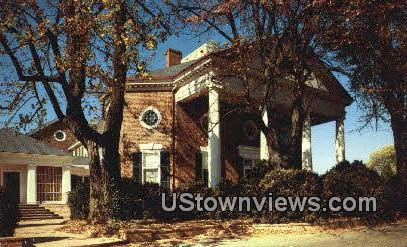 East Portico Farmington Country Club  - Charlottesville, Virginia VA Postcard