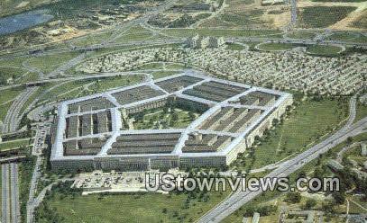 Pentagon Building  - Arlington, Virginia VA Postcard