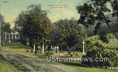 Mountain Park  - Roanoke, Virginia VA Postcard