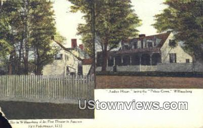 Audrey House  - Williamsburg, Virginia VA Postcard