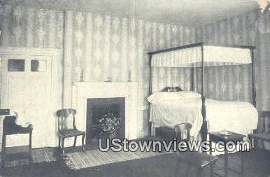 Bedroom Of Judge And Mrs Marshall  - Richmond, Virginia VA Postcard