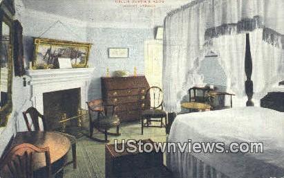 Nellie Custis Room  - Mount Vernon, Virginia VA Postcard