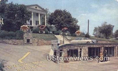Stony Ledge Motel  - Skyline Drive, Virginia VA Postcard