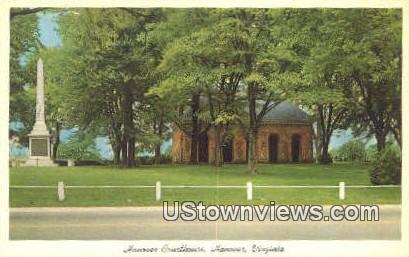 Hanover Courthouse  - Virginia VA Postcard