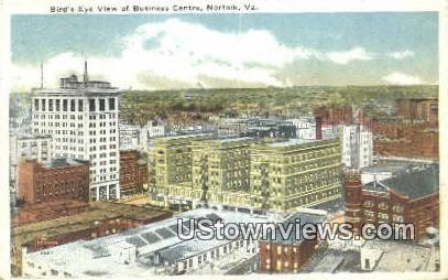 Business Centre  - Norfolk, Virginia VA Postcard