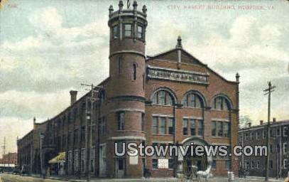 City Market Building  - Norfolk, Virginia VA Postcard