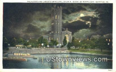 Christ Episcopal Church  - Norfolk, Virginia VA Postcard