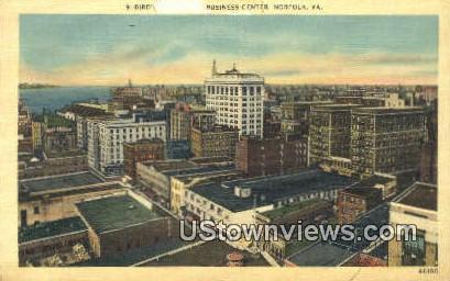 Business Center  - Norfolk, Virginia VA Postcard