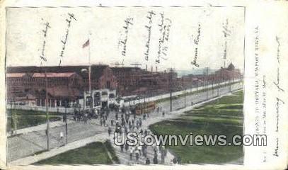 Entrance To Shipyard - Newport News, Virginia VA Postcard