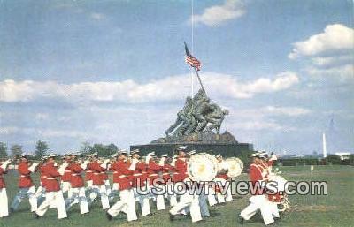 Us Marine Corps  - Arlington, Virginia VA Postcard