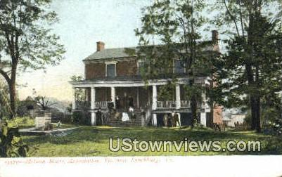 Mclean House  - Appomattox, Virginia VA Postcard