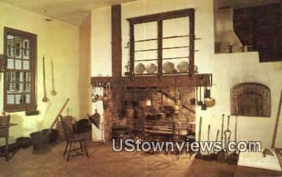 The Family Kitchen  - Mount Vernon, Virginia VA Postcard