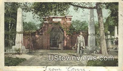 Washingtons Tomb  - Mount Vernon, Virginia VA Postcard