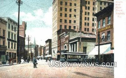 West Main Street  - Norfolk, Virginia VA Postcard
