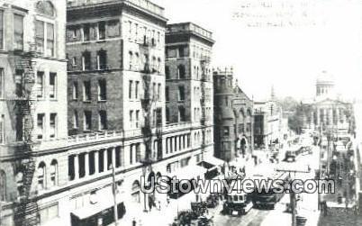 City Avenue Reproduction - Norfolk, Virginia VA Postcard