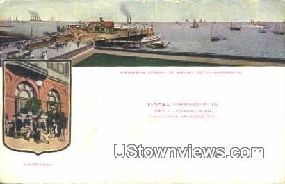 Hotel Chamberlain  - Fortress Monroe, Virginia VA Postcard