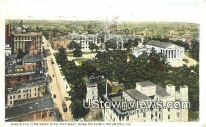 National Bank Building  - Richmond, Virginia VA Postcard