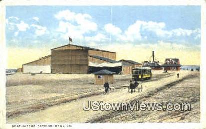 Boat Harbor  - Newport News, Virginia VA Postcard