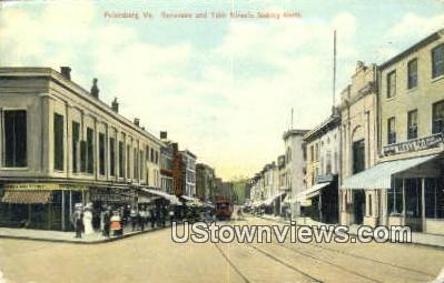 Sycamore And Tabb Streets  - Petersburg, Virginia VA Postcard