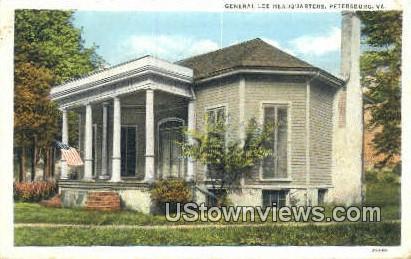 General Lee Headquarters  - Petersburg, Virginia VA Postcard
