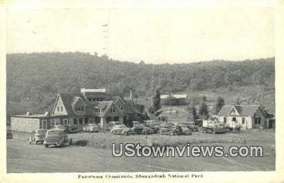 Panorama Crossroads  - Shenandoah National Park, Virginia VA Postcard