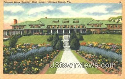 Princess Anne Country Club  - Virginia Beach Postcards, Virginia VA Postcard