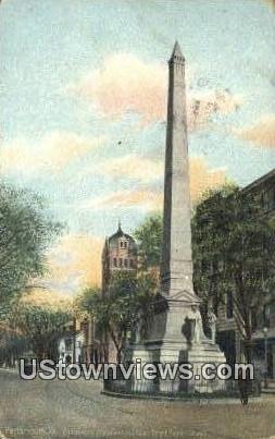 Confederate Monumen - Portsmouth, Virginia VA Postcard