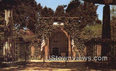Washington Tomb Mount Vernon  - Virginia VA Postcard