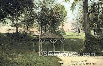 Spring House Central  - Petersburg, Virginia VA Postcard