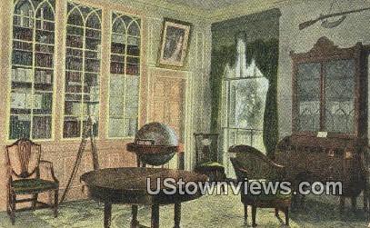 Washington Library  - Mount Vernon, Virginia VA Postcard