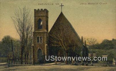 Johns Memorial Church  - Farmville, Virginia VA Postcard