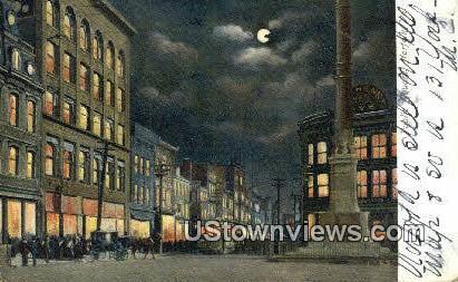 Public Square  - Norfolk, Virginia VA Postcard