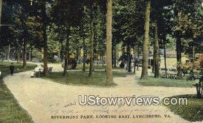 Rivermont Park  - Lynchburg, Virginia VA Postcard