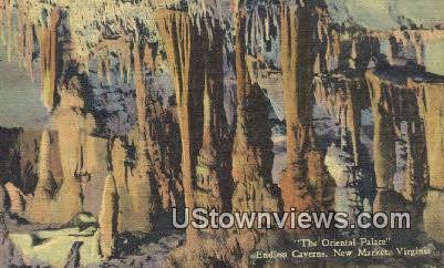 Oriental Palace Endless Caverns - Newport News, Virginia VA Postcard