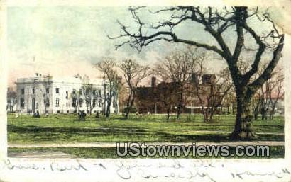 The Government Building  - Newport News, Virginia VA Postcard