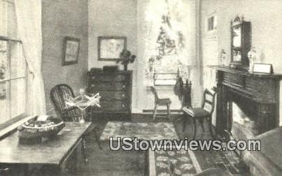 School Room  - Arlington, Virginia VA Postcard