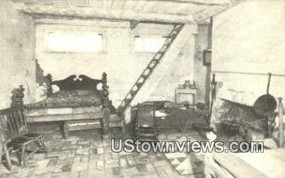 Slave Square Lee Mansion  - Arlington, Virginia VA Postcard