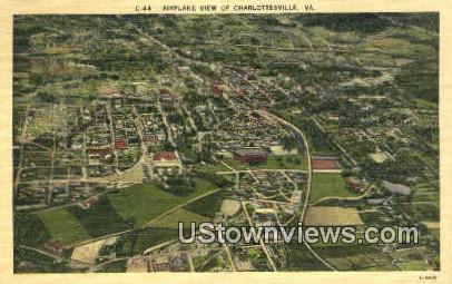 Charlottesville, Virginia, VA, Postcard