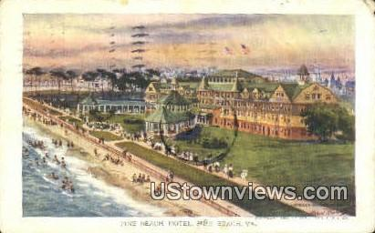 Pine Beach, Virginia, VA, Postcard