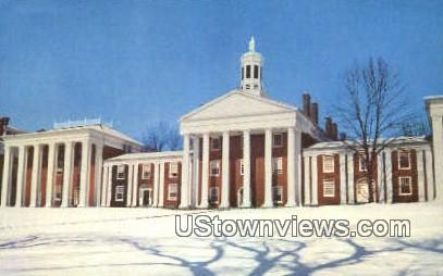 Winter Time Washington - Lexington, Virginia VA Postcard