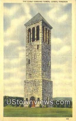 The Luray Singing Tower  - Virginia VA Postcard