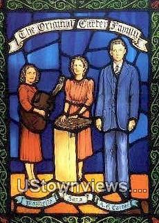 The Original Carter Family  - Hilton, Virginia VA Postcard