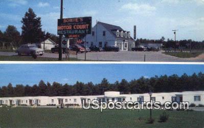 Bowie's Motor Court - Richmond, Virginia VA Postcard