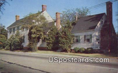 Seymour House, Accomac - Eastern Shore, Virginia VA Postcard
