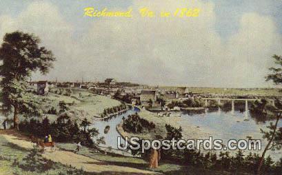 Richmond, VA Postcard       ;         Richmond, Virginia