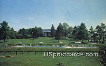 Mimslyn Motor Inn - Luray, Virginia VA Postcard